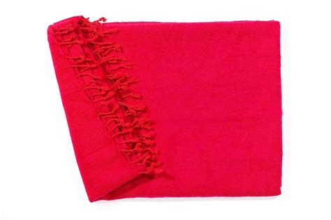 wohndecke rot rosa plaids en shawls