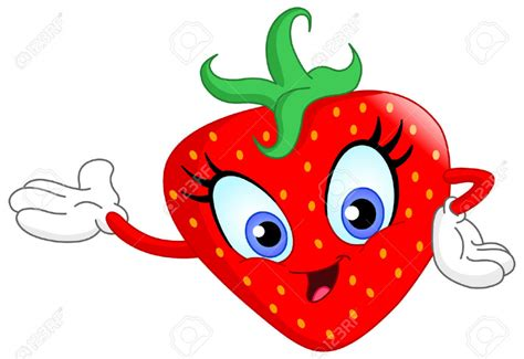 strawberry cartoon cute cartoon strawberries www imgkid com the image kid