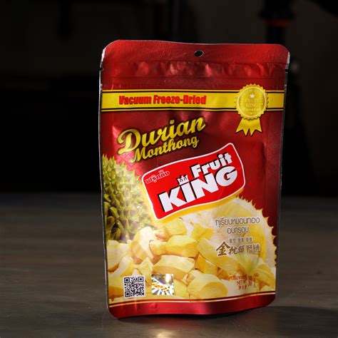 fruit king 5 kinds of freeze dried durian tasted and explained
