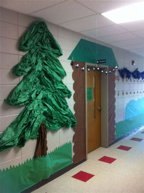 how to make school hall christmas c hallway decoration cing theme sunday school survival and classroom