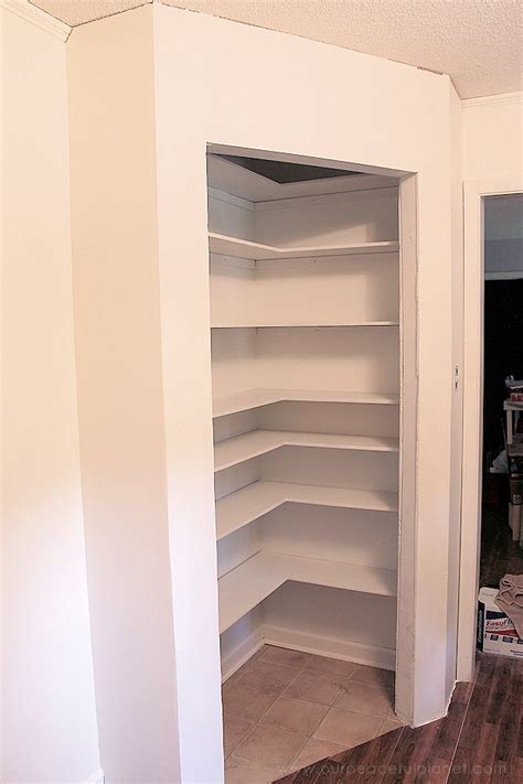How To Add A Pantry To A Small Kitchen by Add Space Convenience With A Simple Diy Pantry