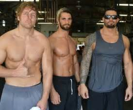 Dean ambrose seth rollins and roman reigns on pinterest