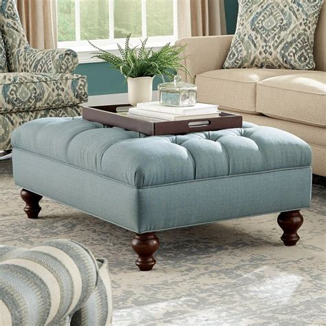 extra wide chair with ottoman craftmaster accent ottomans extra large tufted ottoman