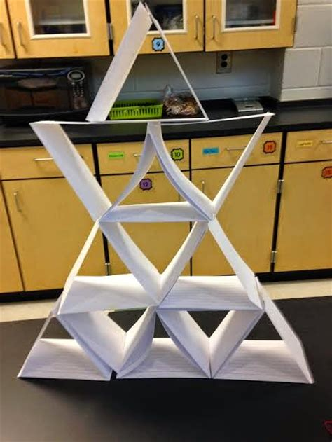 How To Make A Tower With One Of Paper - teachers are terrific what s going on in the lab