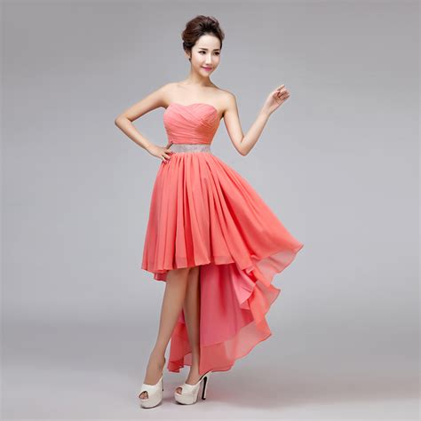coral colored dress popular coral colored bridesmaid dresses buy cheap coral