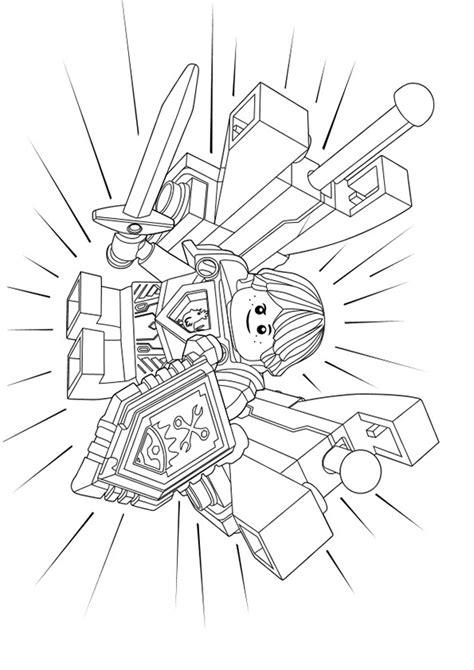 ausmalbilder nexo knights  ausmalbilder gratis