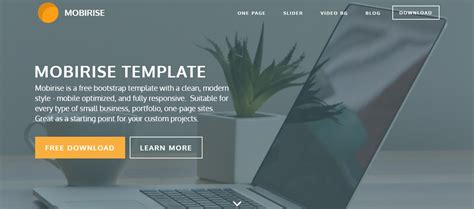 bootstrap one page template 40 professional free bootstrap themes