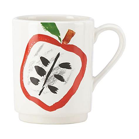 kate spade l home goods kate spade york all in taste fruit accent mug