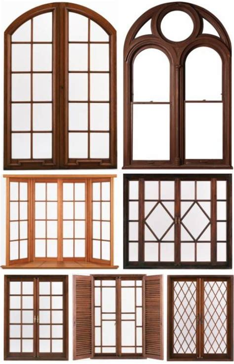 Photos Of Windows And Doors Designs Wood Windows Wood Windows New Photoshop Doors Windows Iron Pinterest Wood