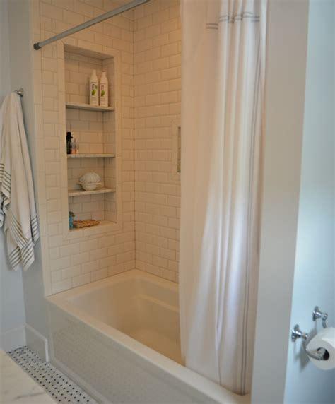 large bathtubs with shower large tile shower shelves at end of bathtub subway tile
