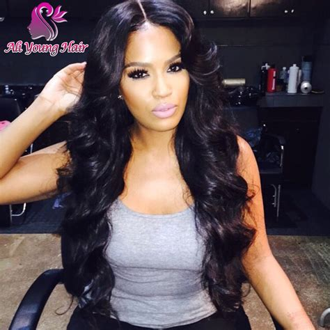 sew in weaves remy hair lace wigs and closures 7a quality glueless full lace human hair wigs body wave
