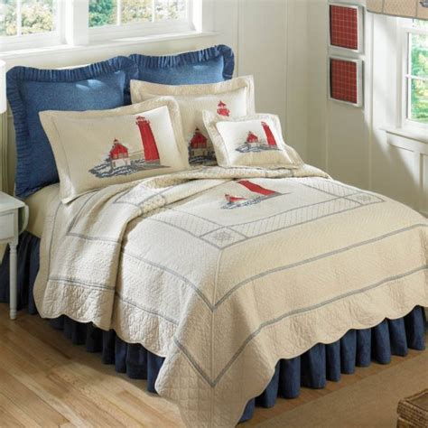 lighthouse comforters and quilts donna sharp grand haven lighthouse bedding by donna sharp
