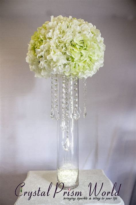 How To Make A Wedding Centerpiece Using Crystals & Chain