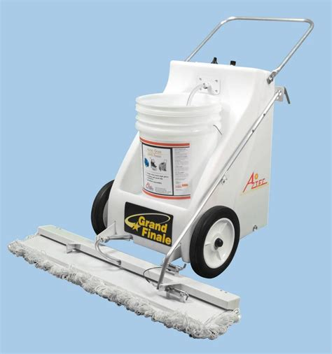 Wax Machine For Floor by Aztec Introduces The Grand Finale Floor Finisher
