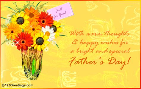 fathers day greetings to a friend warm thoughts and wishes free friends ecards greeting
