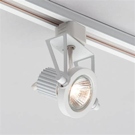 1 Metre Track Light With 3 Gu10 Halogen Bulbs White Halogen Track Lighting Fixtures