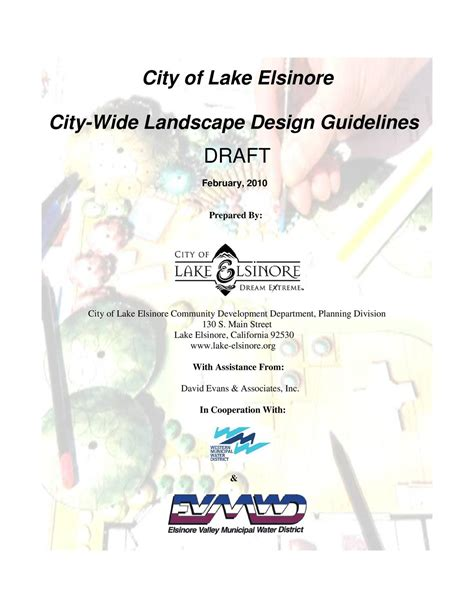 design guidelines perry lakes draft city wide landscape design guidelines by city of