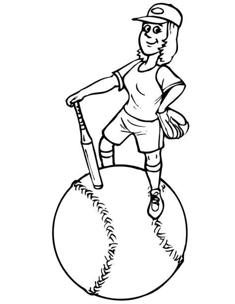 Index Of Coloringpages Baseball Coloring Pages Baseball Player Coloring Pages