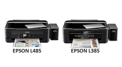 Printer Epson L485 Pengganti Epson L455 perbedaan printer all in one epson l485 dengan l385