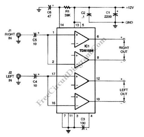 Power Lifier Ca 12 12v car lifier circuit diagram wiring diagram