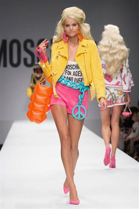 Milan Fashion Week Moschino Celebrates Barbie With Spring Summer 2015 Collection 187 Hydrogen Mag » Home Design 2017