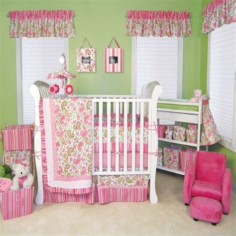full pink color girl baby room ideas decorate baby nursery decor unique bedroom daughter decorating