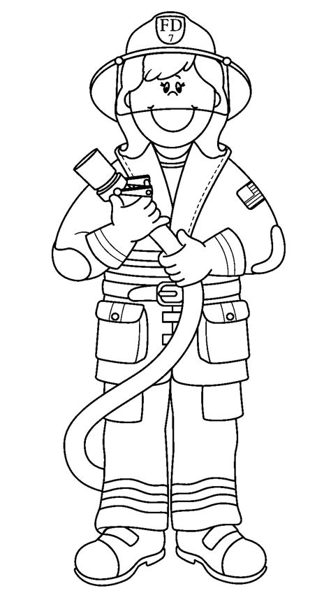 Firefighters Coloring Pages printable firefighter coloring pages coloring me