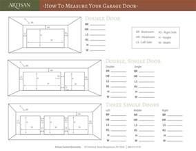 How To Measure Garage Door Measure Your Garage Door With 4 Simple Steps Artisan