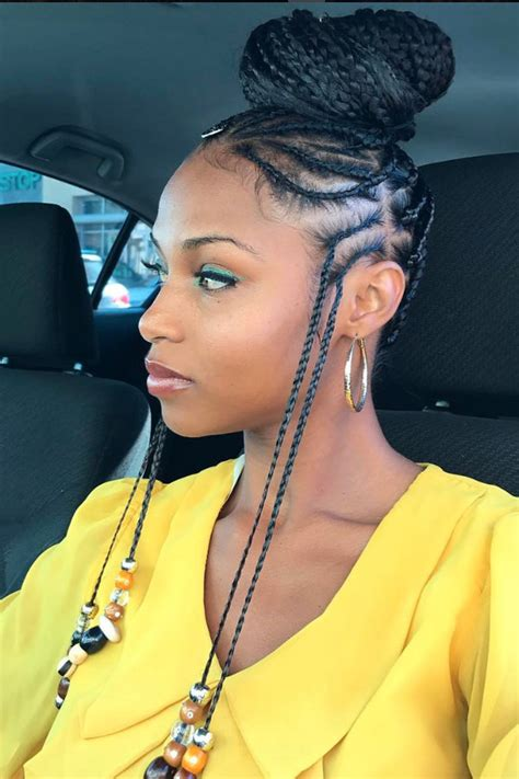 show me pictures of extensions french braids black people here 21 ways to rocks braids with beads beautiful braids