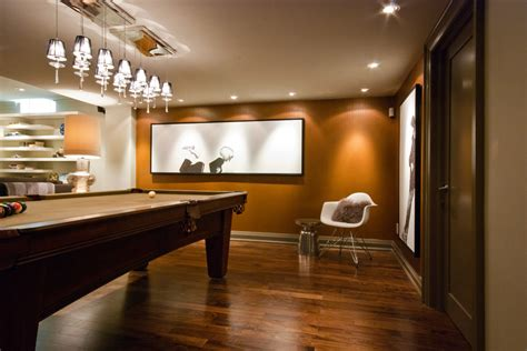 Impressive horizontal wall art decorating ideas images in basement contemporary design ideas