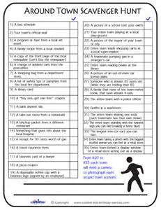 template for scavenger hunt free printable scavenger hunt previous printable next