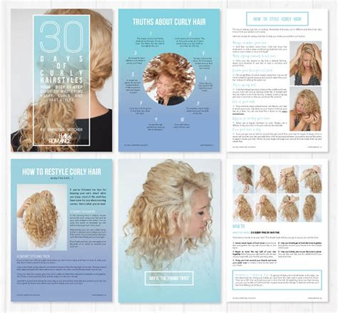 Hairstyle Books Curly by Book Review Of 30 Days Of Curly Hairstyles By