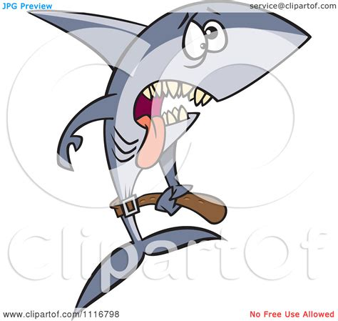 Awesome Thin Christmas Tree #7: Starvation-clipart-Cartoon-Of-A-Skinny-Starving-Shark-Royalty-Free-Vector-Clipart-10241116798.jpg