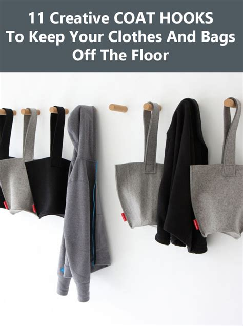 creative coat hooks 11 creative coat hooks to keep your clothes and bags