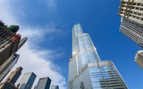 world of architecture tallest towers trump tower chicago tallest buildings in the world travel leisure