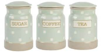Kitchen Tea Coffee Sugar Canisters cream and country tea coffee and sugar canisters