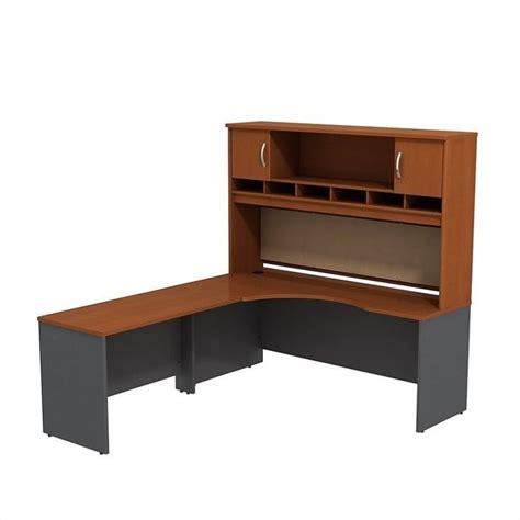 Bush Furniture L Shaped Desk Bush Business Furniture Series C 72 Quot Lh L Shaped Desk In Auburn Maple Src002aul