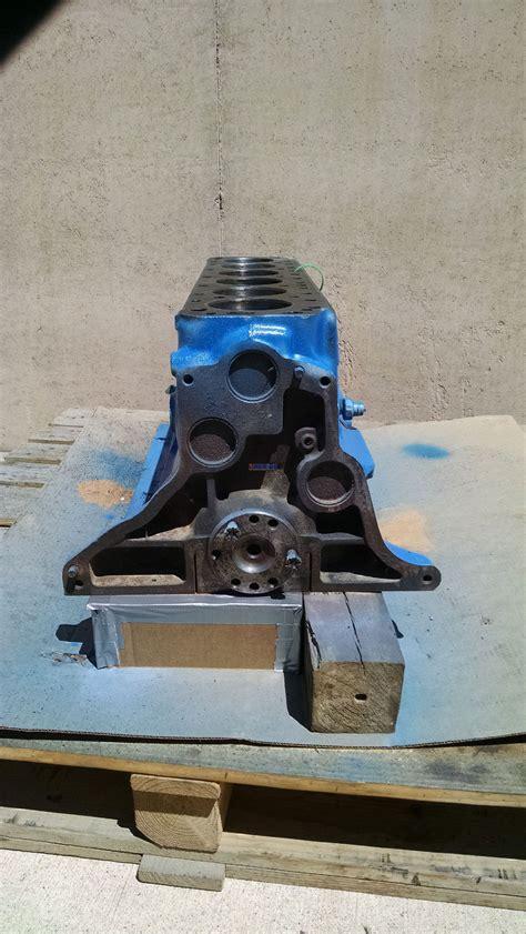 engine short block good  ford  block cnn    cyl gas