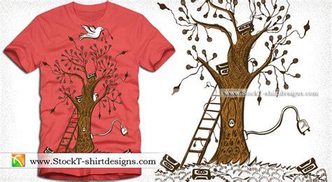 design shirt on illustrator tree vector t shirt designs download t shirt design