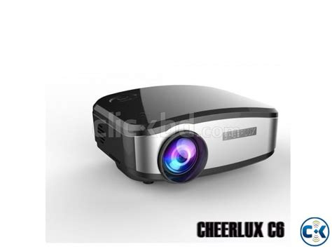 Lu Projector 1200 lu cheerlux c6 mini projector tv clickbd