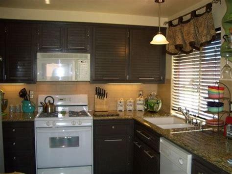 brown kitchen appliances honey oak kitchen updated to dark chocolate brown i kept