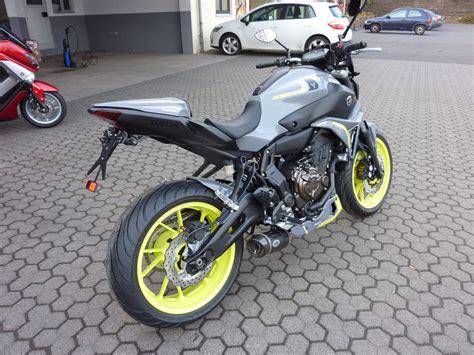 Motorrad Auspuff Mt 07 umgebautes motorrad yamaha mt 07 von zweirad center z 246 ller