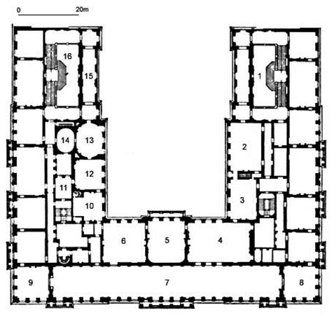 palace of caserta floor plan picture plan of herrenchiemsee palace first floor