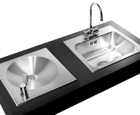 water fountain sink ada compliant stainless steel classroom sinks