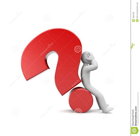 Or Difficult Question Difficult Question Stock Photos Image 18291533