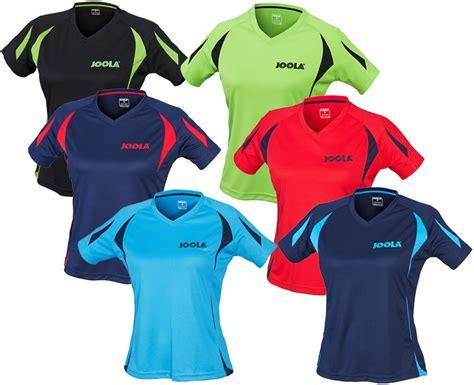 joola table tennis clothing joola matera table tennis shirt bribar table tennis