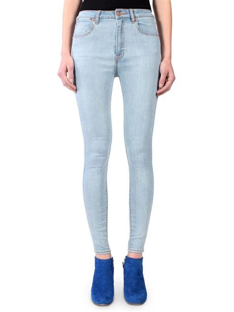 light colored jeans light colored high waisted jeans bbg clothing
