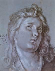 head of an angel albrecht durer wikiart org