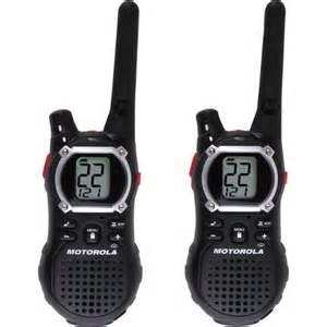 Rugged Radios Motorola Em1000 Talkabout Two Way Walkie Talkie Radio