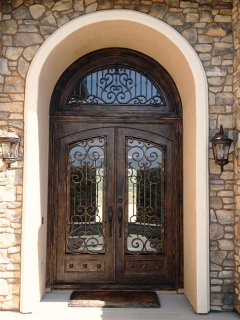 Iron Front Doors Dallas Wrought Iron Square Doors With Rounded Glass Wrought Iron Door Dallas Tx Wrought Iron